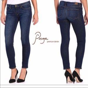 PAIGE Skinny Jeans Skyline Ankle Peg Sz 27 Denim